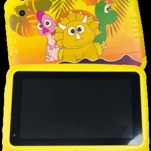 tablet dinojitos pantalla de 7 pulgadas con bluetooth cámara frontal y trasera