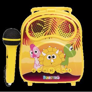 karaoke dinojitos Bluetooth micrófono USB