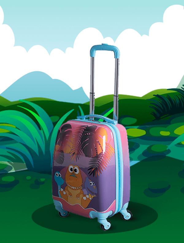 maleta trolley rigida dinojitos