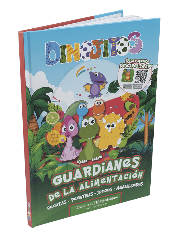 Libro Dinojitos Guardianes de la alimentación